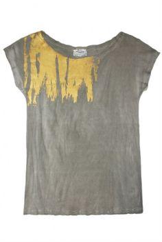Gold Shoulder T-Shirt - fair trade fashion - Raven & Lily - love this!