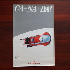 Excited to share the latest addition to my #etsy shop: Vintage 1988 Calgary Winter Olympics Promotional Poster Air Canada Bobsleigh Team Sport Advertising Original Poster https://etsy.me/2qssZkd #music #poster #aircanada #1988poster #calgaryposter #bobsleigh #winteroly