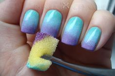 GRADIENT TUTORIAL by nailXchange. I love this site!