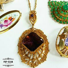 Fabulous vintage necklaces, in stock now!