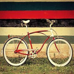 Red Ride  by Bucks County Frames on Etsy $30