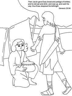Our Country Road: Bible Activity Book: Jacob and Esau