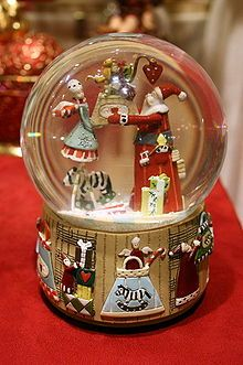 Christmas In Nyc Snow Globe One Of Nycwebstore Com S Most