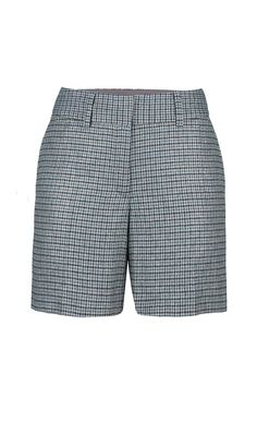 """TABOO"" plaid short 