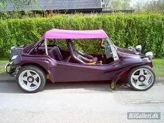 I would love to have one of these.  Vw Buggy, maybe a different color
