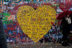 I Loved You - John Lennon wall