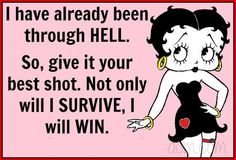 Discover and share Betty Boop Quotes And Sayings. Explore our collection of motivational and famous quotes by authors you know and love. Black Betty Boop, Betty Boop Cartoon, Betty Boop Pictures, Life Quotes Love, Crazy Quotes, Sassy Quotes, Woman Quotes, I Survived, I Win