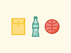 Dribbble - Icons by Justin Pervorse