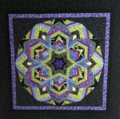 """Made by Valerie Yeaton. Featured in the book """"Kool Kaleidoscopes"""" by Ricky Tims."""