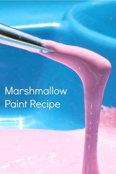 Easy Marshmallow Paint Recipe - Fantastic Fun  Learning