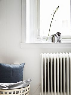 Old radiators, new heat and warmth. #home #interiordesign