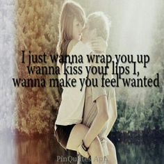Wishing you had a love like a country song...