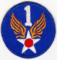 Frist Air Force Army Military Patch USAF by CantonCollectables, $9.00