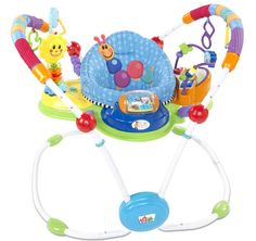 Baby Einstein Musical Motion Activity Jumper: My swing and bouncer lasted only weeks, but my daughter was in love with her Baby Einstein Jumper ($89) for months and months. She loved bouncing up and down in it and playing with all fun objects and sounds. Most of my friends' kids were equally obsessed; in fact, maybe we should start a Baby Einstein Jumper fan club?   — Kate Stahl, contributing editor, LilSugar