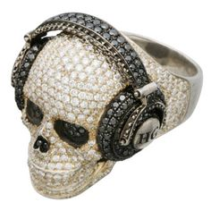Hysteric Glamour - TRYGOD Skull + Snake Jewelry.