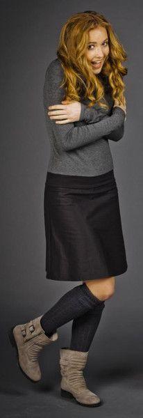Knielange Kleider - Kragenkleid Ava - ein Designerstück von kirsch-gruen bei DaWanda