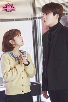 [Strong Woman Do Bong Soon] Korean Drama Park Hyung Sik, Korean Actresses, Korean Actors, Actors & Actresses, Korean Dramas, Park Bo Young, Korean Couple, Best Couple, Strong Girls