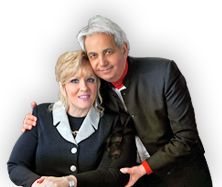 Suzanne and I want to thank you for all of your support, kind words and prayers. May God bless you today and always for being a friend and vital part of the Benny Hinn Ministries family! Praise The Lords, Praise God, John 16 7, You Are The Father, My Father, Benny Hinn, Revelation 1, Old And New Testament, Donate Now