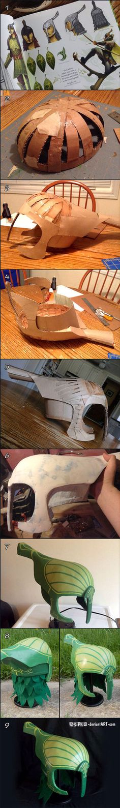 How to make any kinda helmet