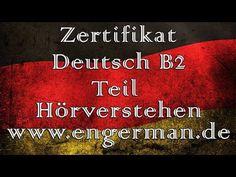 Zertifikat Deutsch B2   Hörverstehen B2   Aufgabe 5 - YouTube