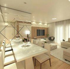 for the house Living Room Tv Unit, Living Room Decor, Sweet Home, Dinner Room, Condo Design, Small Apartment Decorating, Furniture Arrangement, Interior Design Kitchen, Home Bedroom