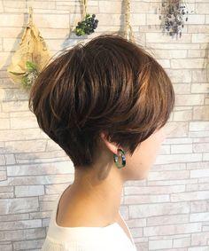 Asian Short Hair, Short Straight Hair, Short Hair Cuts For Women, Short Hair Styles, Bob Hairstyles, Straight Hairstyles, Short Pixie Bob, Hair A, Gorgeous Hair