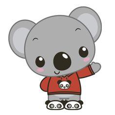 Koala beanie crocheted hat