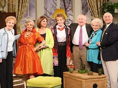 The cast of 'The Mary Tyler Moore Show'... they all still work wonderful... Good on them!