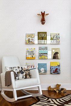 Cute nursery bookcase