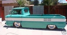 Corvair Truck. great stance