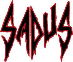 Logo for thrash/death metal band Sadus.