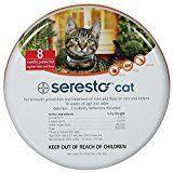 #10: Bayer Seresto Flea Tick 8 Months Collar for Cats