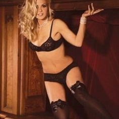 Thigh High W/Satin Bow Plus Size