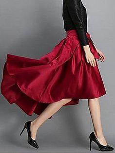 Irregular Skirt ==