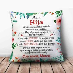 Para Graci y Yasmin😘💖 Mother Daughter Quotes, Dear Daughter, Love Quotes, Inspirational Quotes, Love My Kids, Spanish Quotes, Mothers Love, Holiday Parties, Diy And Crafts
