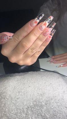 blossom nails !! #ac