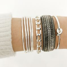 Want to learn how to stack 'em up? Check out our FB Live (Facebook.com/Stelladot) an arm party giveaway!