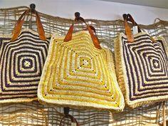 Raffia Crochet Bags   Mountain Xpress