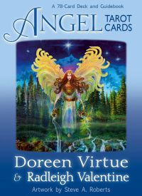 Buy Angel Tarot Cards by Doreen Virtue at Mighty Ape NZ. Tarot has long been revered for giving detailed and accurate forecasts. Doreen Virtue and Radleigh Valentine have created the first deck of tarot card. Doreen Virtue, Archangel Jophiel, Oracle Tarot, Tarot Card Decks, Angel Cards, Card Reading, Deck Of Cards, Guide Book, Frases