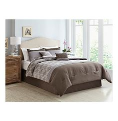 Gatework 6-pc. Comforter Set by LivingQuarters at www.bostonstore.com