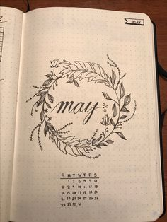May cover for my bullet journal!