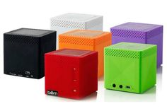 Bem wireless speakers - affordable and look great too.