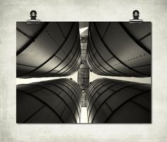 industrial photography  grain silos  black by ABaileyPhotography, $94.00