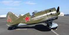 Polikarpov I-16 Type 24 (Rata) This aircraft: Delivered to its air force on July 10, 1940, this Rata served on the Eastern Front during World War II and it was shot down by Finnish fire. In July, 1991, its wreckage was discovered in Karelia, Russia, and was rebuilt at the same factory where it was originally manufactured. A number of the workers who restored the plane had worked on the original I-16 production line as children. This craft is one of only a few flying I-16s in existence.