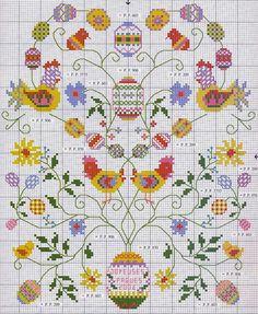 Милые сердцу штучки: Пасхальная вышивка от DFEA (2004)