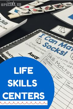 Why I started a LIFE SKILLS activities center in my special education classroom, and why it was so much more than academics that my students needed...