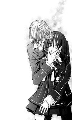 vampire knight  zero  and  yuki