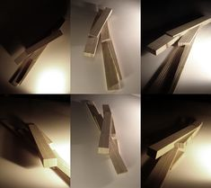 Study models | Alikes Visitor Centre: The 'Garden of the Forking Paths' | draftworks•architects