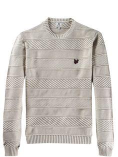 Fair Isle Knitting Patterns, Knitting Paterns, Sport Fashion, Mens Fashion, Dress Shirt And Tie, Mens Sweatshirts, Dapper, Knitwear, Men Casual