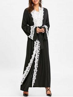 GET $50 NOW   Join RoseGal: Get YOUR $50 NOW!https://www.rosegal.com/coats/contrast-floral-longline-coat-with-tie-belt-1631290.html?seid=4695937rg1631290